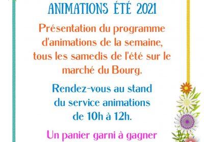 Presentatie van het wekelijks animatie programma