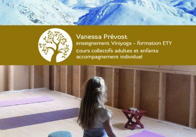 Prévost Vanessa – Yoga en Ayurvedische Massage