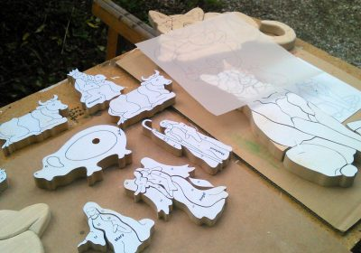 Initiatie figuurzagen en houtsnijwerk