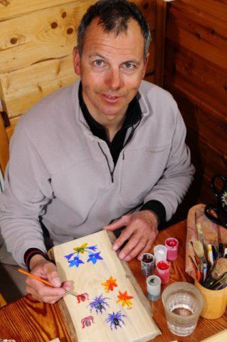 Rodolphe Candau – Peinture sur bois et porcelaine