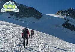 Randonnée glaciaire encadrée : vos premiers pas en haute montagne !